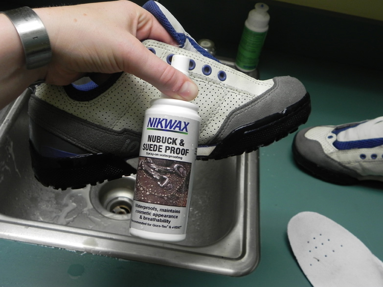 Keeping your shoes clean, it's easier than you might think!