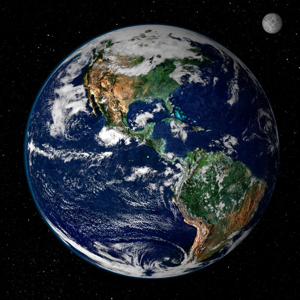 It's up to all of us to do our part to take care of the earth. Photo: NASA